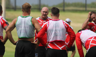 Dragons coach Paul McGregor will be under pressure early this season.