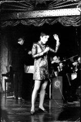 Liza Minnelli at Chequers nightclub, Sydney, on June 19, 1968