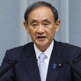 """""""Not true"""": Chief Cabinet Secretary Yoshihide Suga."""