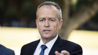 """""""Let's tick this box and let's move on"""": Opposition Leader Bill Shorten."""