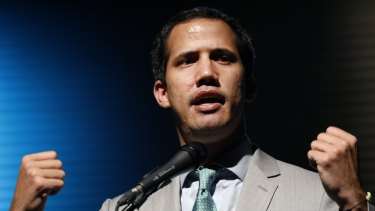 Venezuelan Opposition Leader Juan Guaido is backed by the US.