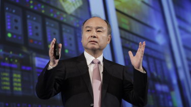 SoftBank chief Masayoshi son