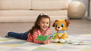 Storytime Buddy's voice might be off-putting for adults, but kids seem to love it.