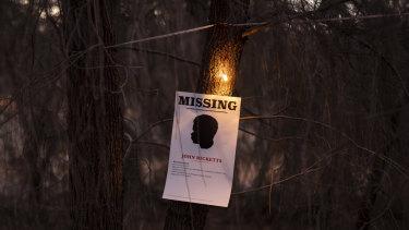Julie Gough, Missing or Dead, at the Dark Path.