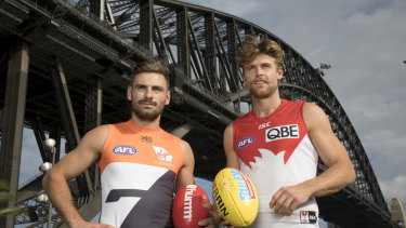 The extra cost of living in Sydney is a concern for Swans and Giants players.