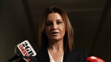 Independent Tasmanian senator Jacqui Lambie announced she would back the tax cuts.