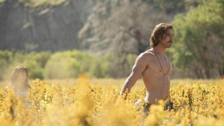 Chris Hemswworth as Billy Lee in Bad Times at the El Royale.