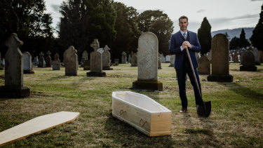 Former funeral director Scott Turnbull is in an upcoming show about death.