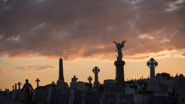 I love to walk  and think in Waverley cemetery.