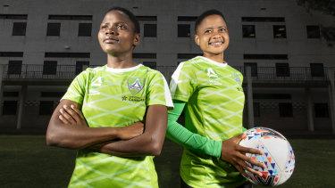 South African players Rhoda Mulaudzi and Refiloe Jane were discovered on YouTube.