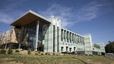 The new$91.5 million Forensic Medicine and Coroners Court complex in Lidcombe.
