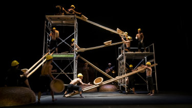 There is no faulting the skill and energy of the performers.