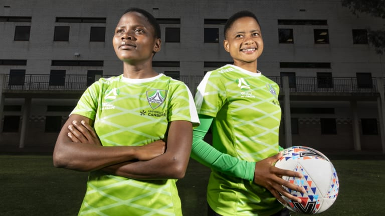 South African players Rhoda Mulaudzi and Refiloe Jane were discovered on YouTube.