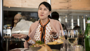 Property developer and philanthropist Tina Tian.