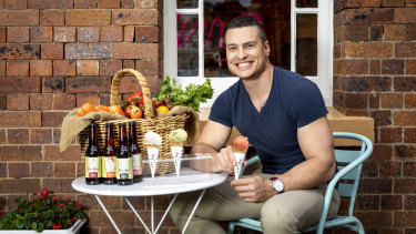 It took a week for Ben Ungermann to devise his fresh ice-cream flavours for the Scenic Rim Eat Local Week.