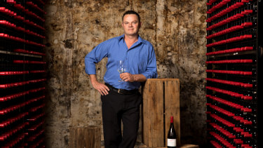 Penfolds winemaker Kym Schroeter, whose 2017 Reserve Bin 17A Chardonnay  was named Best Wine of Show.