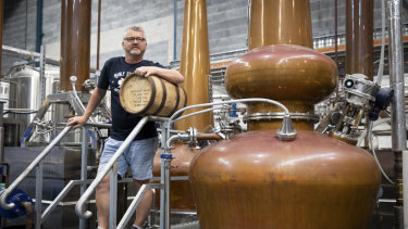 """David Whittaker said distillers got the """"wrong end of the stick"""" when it comes to alcohol taxation."""