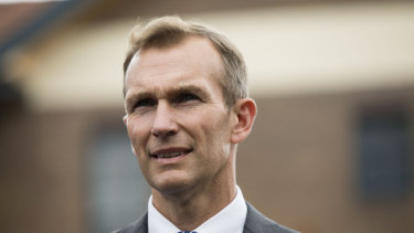 Minister for Planning and Public Spaces, Rob Stokes.