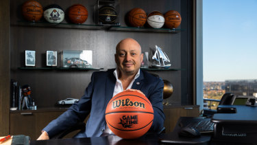 Growth surge: NBL owner Larry Kestelman is aiming to expand the league's footprint.