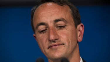 Liberal Candidate for Wentworth, Dave Sharma, after conceding defeat.