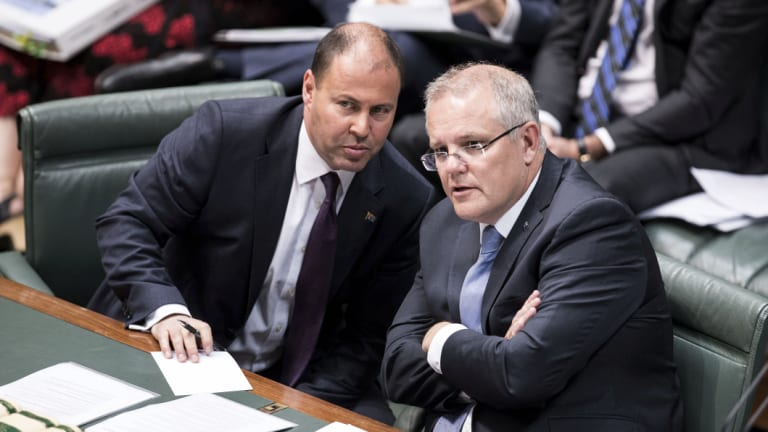 The PM and Treasurer are banking on a bumper April budget.