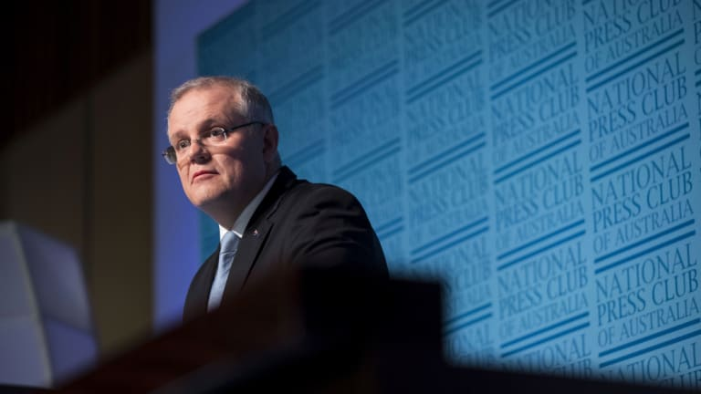 Treasurer Scott Morrison says Australia will continue to have a progressive tax system where the wealthiest workers pay the biggest tax bills in dollar terms.