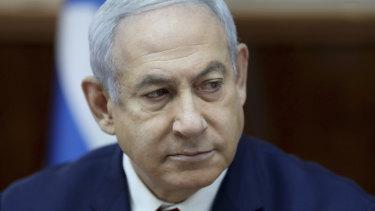 Israeli Prime Minister Benjamin Netanyahu.