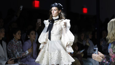The Zimmermann show at New York Fashion Week.