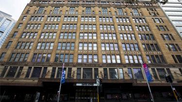 The redevelopment of David Jones' flagship has caused disruption.
