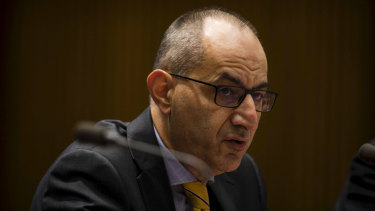 Home Affairs Department secretary Michael Pezzullo.
