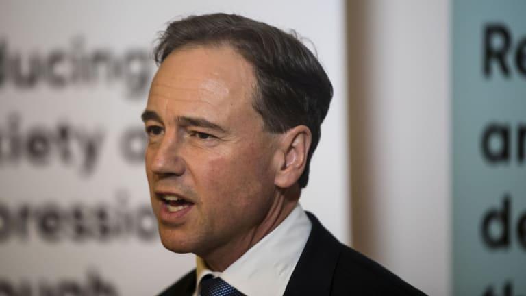 Health Minister Greg Hunt will re-draft the My Health record legislation.