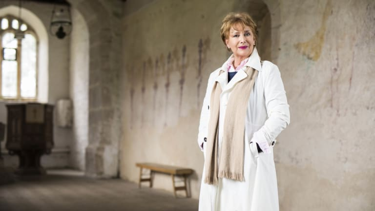 Minette Walters at her home in Dorset.