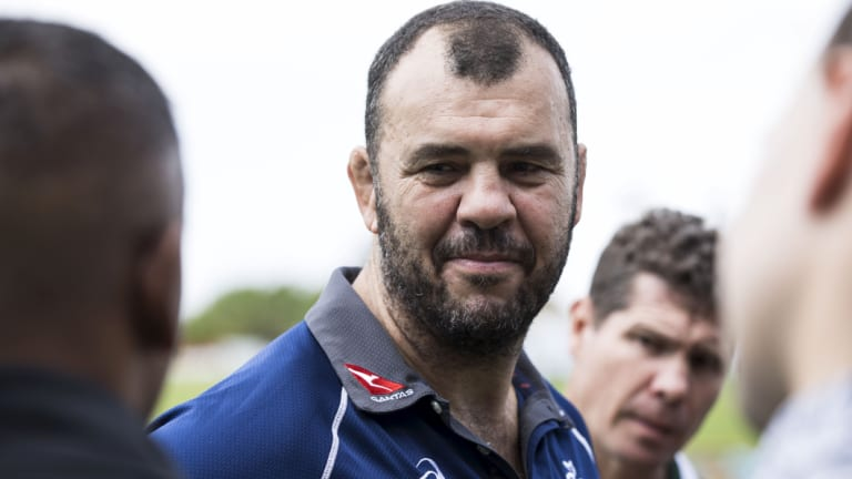 Facing up: Cheika will front the Rugby Australia board in Sydney on Friday.