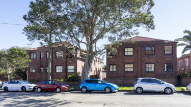 A block of 24 apartments at 111 and 113 Edgecliff Road in Woollahra, Sydney, forms part of a major portfolio sale.