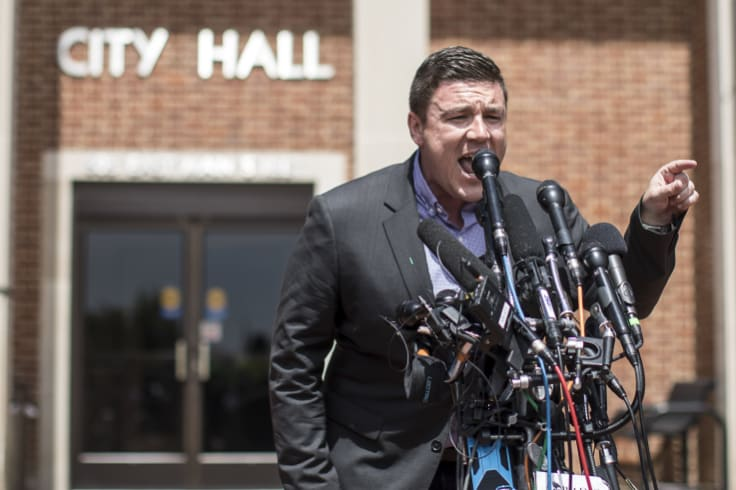 """Jason Kessler, an organiser of last year's """"Unite the Right"""" rally in Charlottesville, had hoped to hold an anniversary event there."""