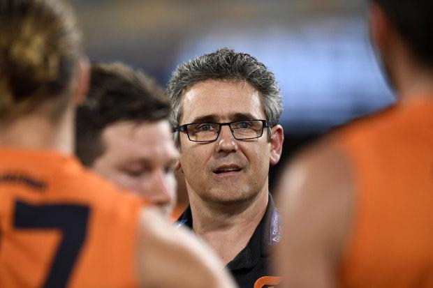 Giants coach Leon Cameron.