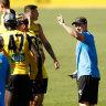 Hardwick wants AFL return date ASAP