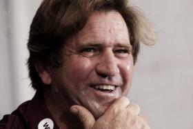 Sense of humour: Manly coach Des Hasler.