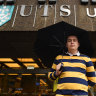 It's masked, monitored and sanitised, but life is returning to Sydney's university campuses