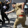India imposes curfews in Kashmir after clashes during religious procession