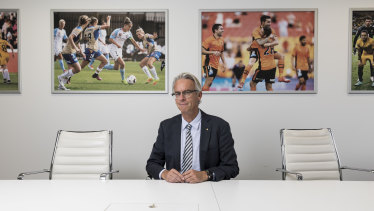 David Gallop's role as Football Federation Australia chief executive  is about to change dramatically with the A-League to be run independently of the national body.