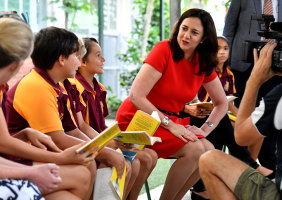 The Queensland Government hired an extra 1000 teachers this year.