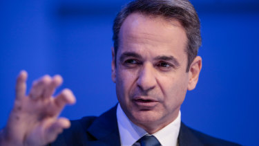Kyriakos Mitsotakis, Greece's Prime Minister, wants a solution to the stand-off with Turkey.