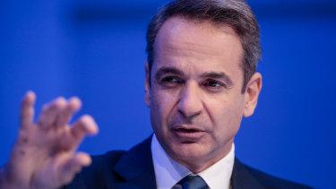 Kyriakos Mitsotakis, Greece's Prime Minister, wants a political solution.