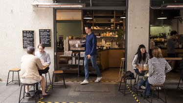Pina Pop-Up operates as something of  a test lab for Potts Point favourite Room 10.