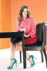 Kate Ellis photographed for <i>Sunday Life</i> magazine, 2011.
