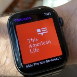 This American Life podcast on an Apple Watch.