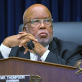 Representative Bennie Thompson is suing the former president.