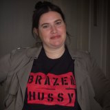 <i>Brazen Hussies</i> director Catherine Dwyer.