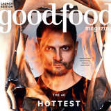 Lennox Hastie on the cover of the Good Food Magazine.